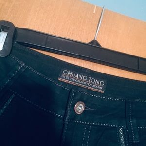 Chuang Tong Jeans - Chuang Tong embellished Black Jeans